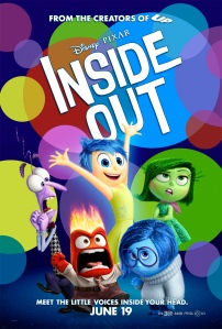 Inside Out is the first of two Pixar films this year