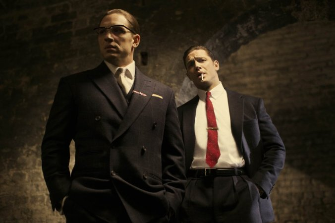 Tom Hardy and Tom Hardy. Copyright: Studio Canal