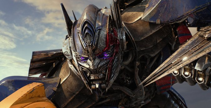 Optimus Prime in Transformers The Last Knight