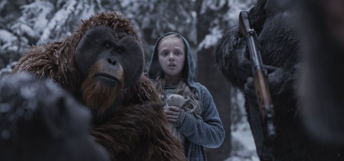 Maurice War for the Planet of the Apes