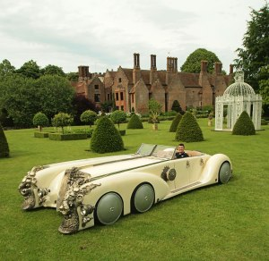 Captain Nemo car on grass
