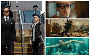 Kingsman: the Secret Service collage