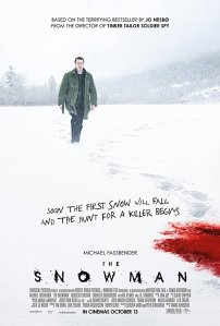 The Snowman poster with Michael Fassbender