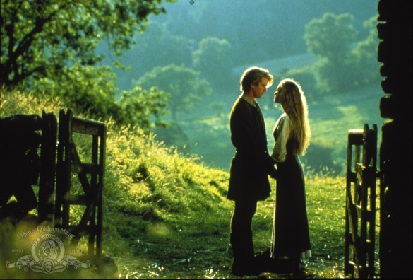 Cary Elwes, Robin Wright in The Princess Bride