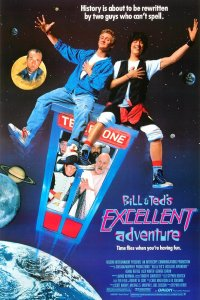 Bill & Ted's Excellent Adventure poster