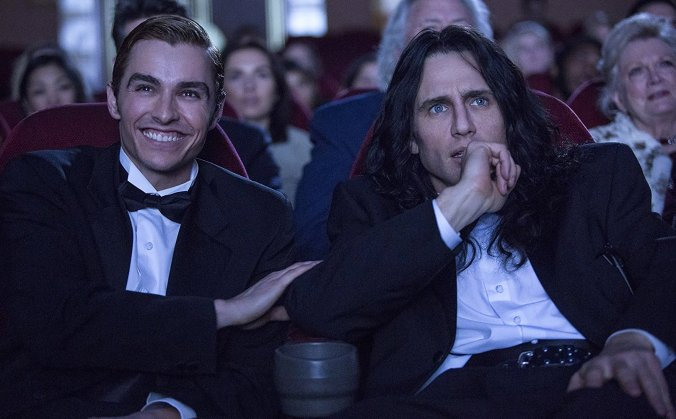 Dave and James Franco in The Disaster Artist