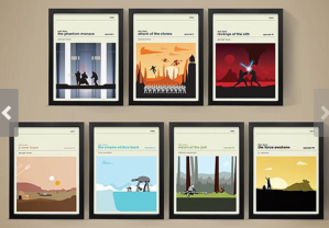 Star Wars Movie Prints