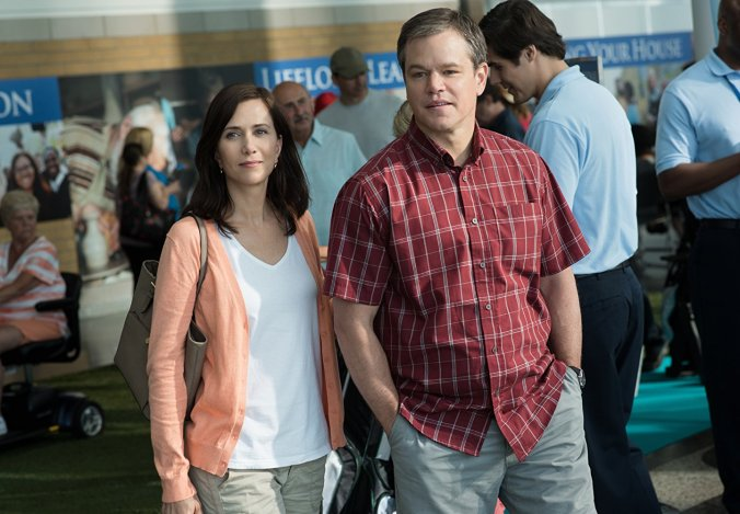 Kristen Wiig and Matt Damon in Downsizing
