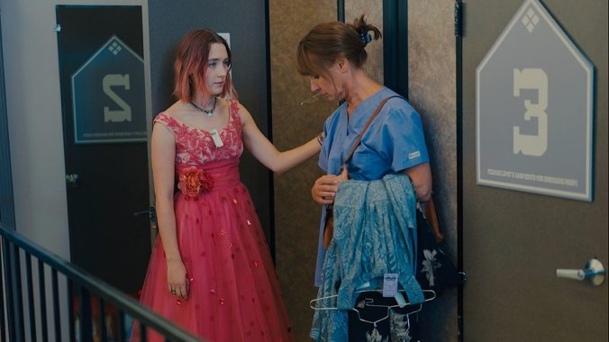 Laurie Metcalf and Saoirse Ronan in Lady Bird