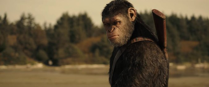 Caesar in War for the Planet of the Apes