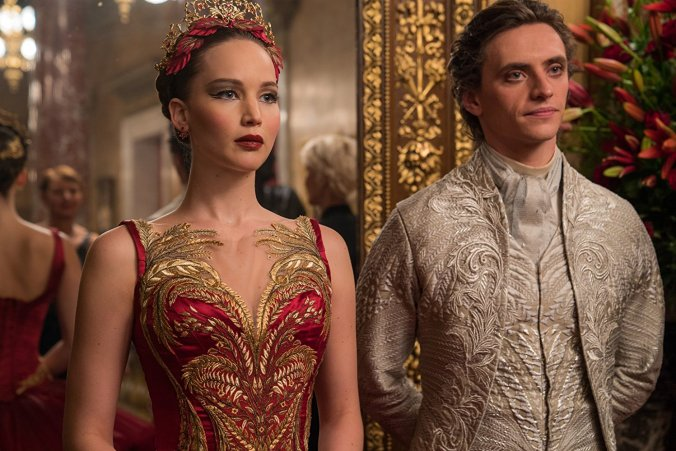 Jennifer Lawrence, Sergei Polunin in Red Sparrow