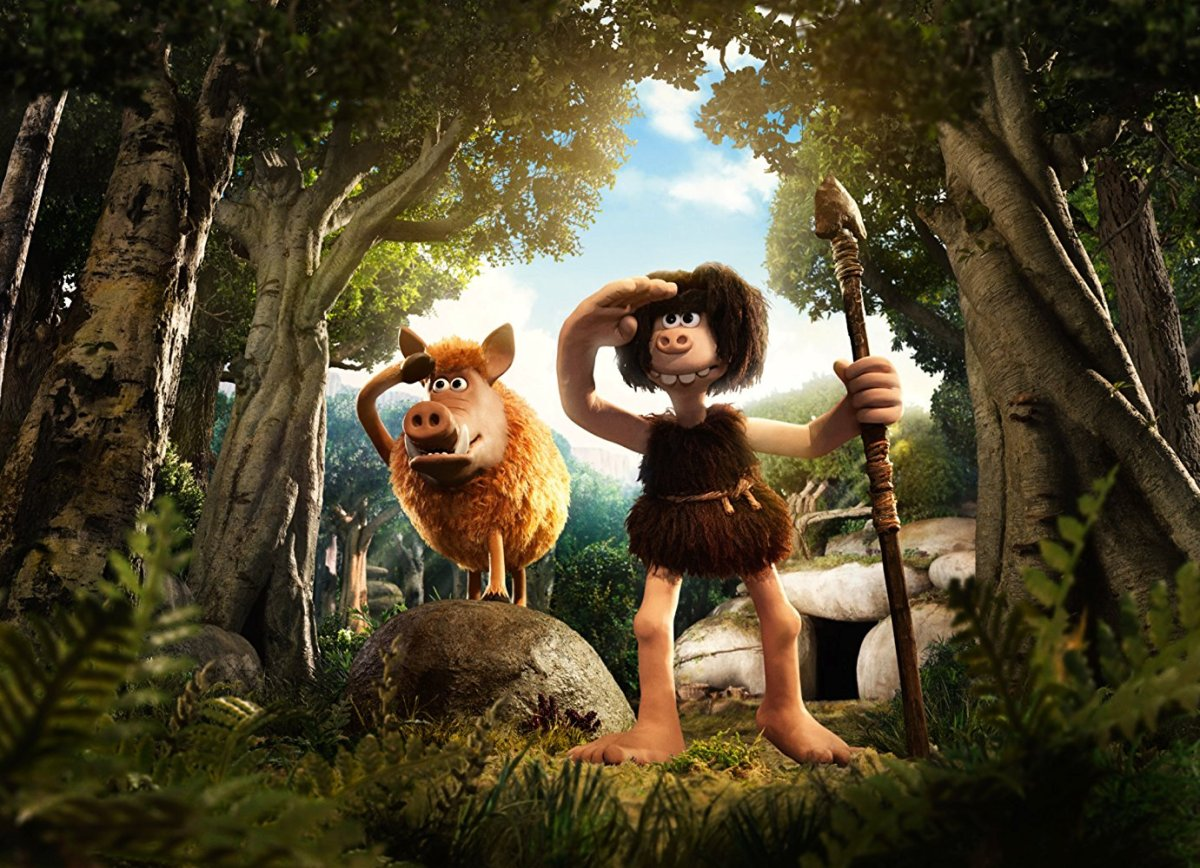 "Early Man review ""Stuck in the Stone Age"""