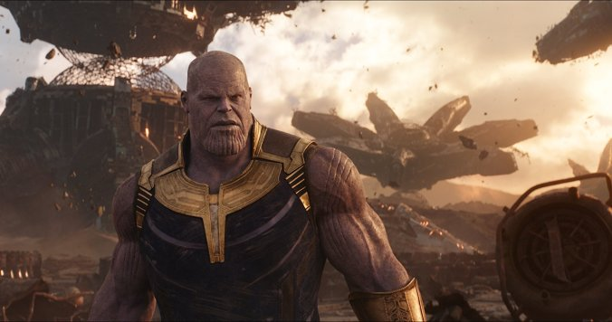 Josh Brolin as Thanos in Avengers: Infinity War