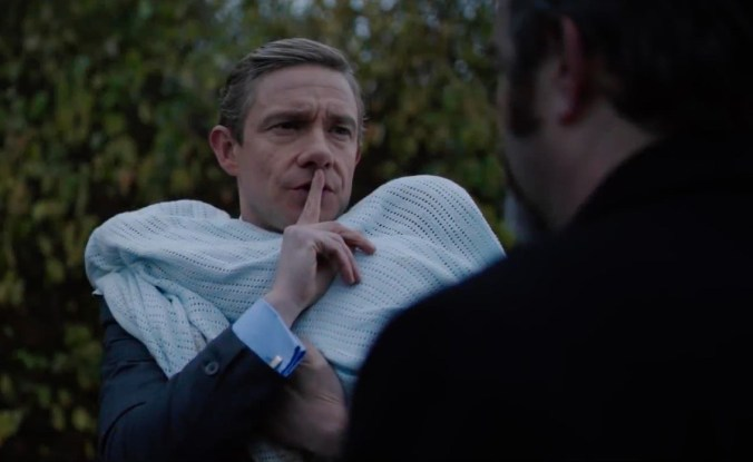 Martin Freeman in Ghost Stories