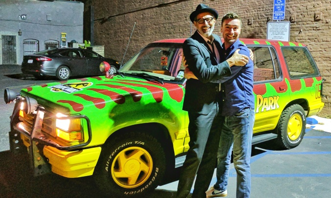 Jeff Goldblum with Ford Explorer