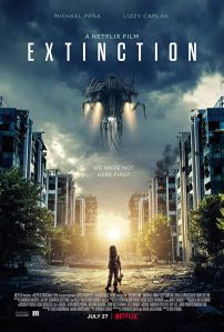 Extinction movie poster