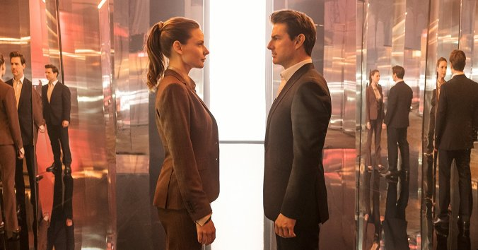 Tom Cruise and Rebecca Ferguson in Mission: Impossible Fallout