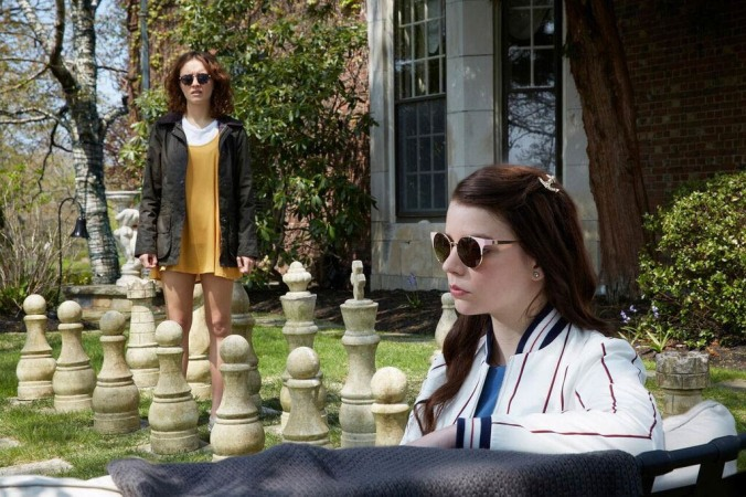 Anya Taylor Joy and Olivia Cooke in Thoroughbreds