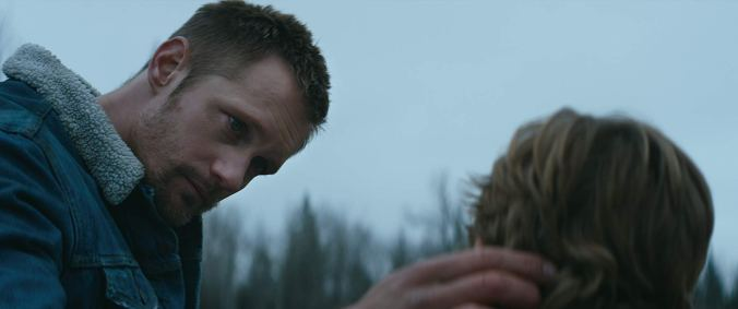 Alexander Skarsgard in Hold the Dark
