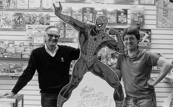Young Stan Lee