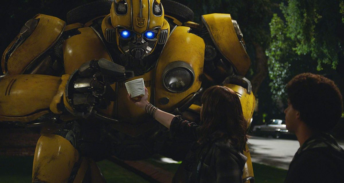 "Bumblebee review ""A fun-filled action-packed barrel of awesome"""