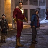 "Shazam! review ""Someone saw Jumanji 2"""