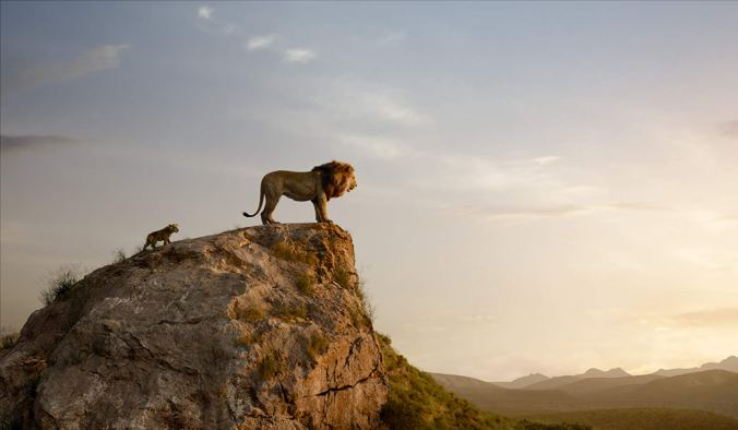 Still from The Lion King