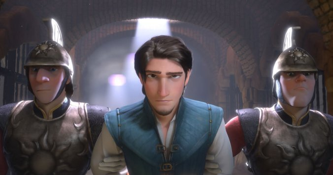 Still from Tangled movie
