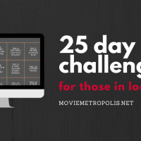 The 25 day movie challenge