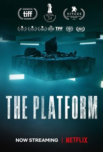 The Platform movie poster